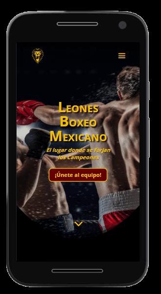 leones boxeo mexicano